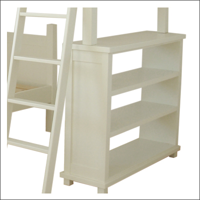 L Shaped Bunk Bed With Bookcase The Room