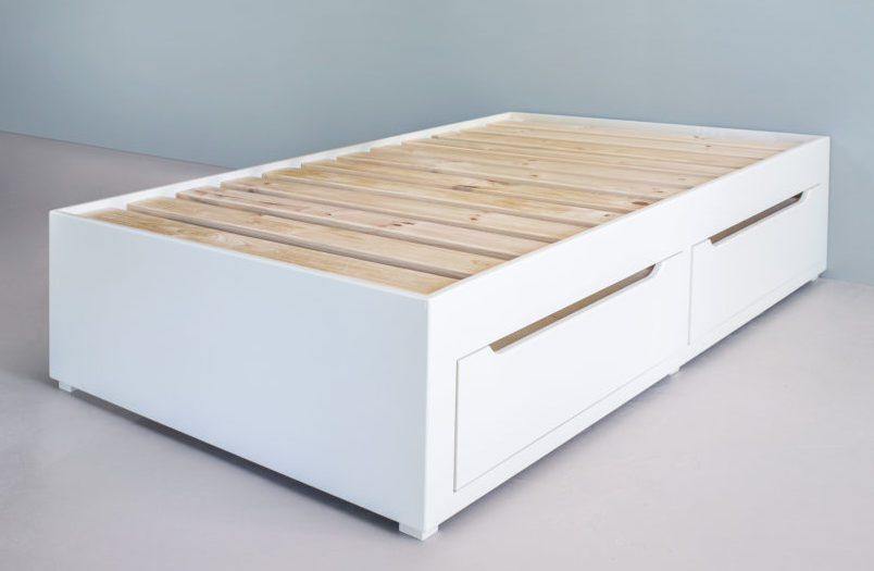 Bed With Drawers Without Headboard
